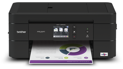 Brother MFC-J690DW colour inkjet all-in-one printer